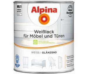 alpina wei lack f r m bel und t ren 2 l ab 27 99 preisvergleich bei. Black Bedroom Furniture Sets. Home Design Ideas
