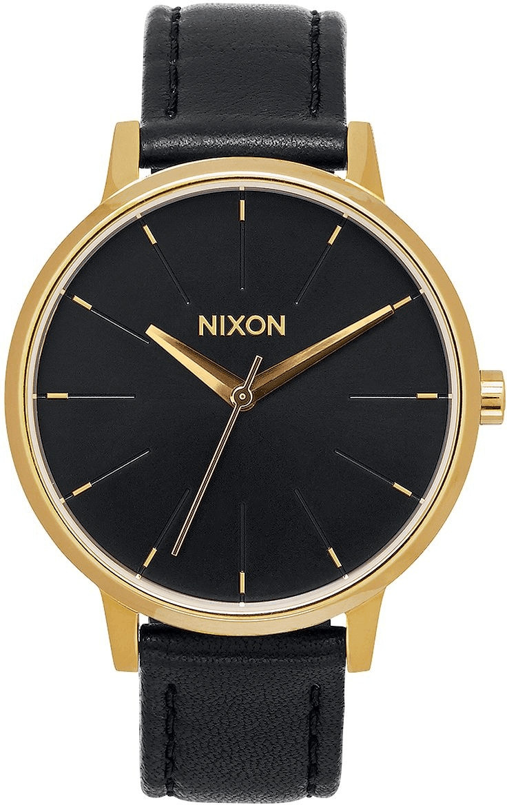 Nixon The Kensington Leather gold/schwarz (A108-513)