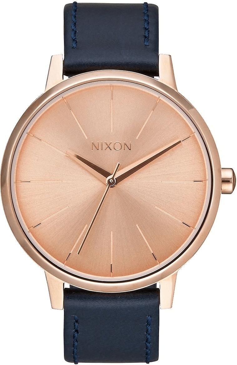 Nixon The Kensington Leather rose gold/navy (A108-2160)