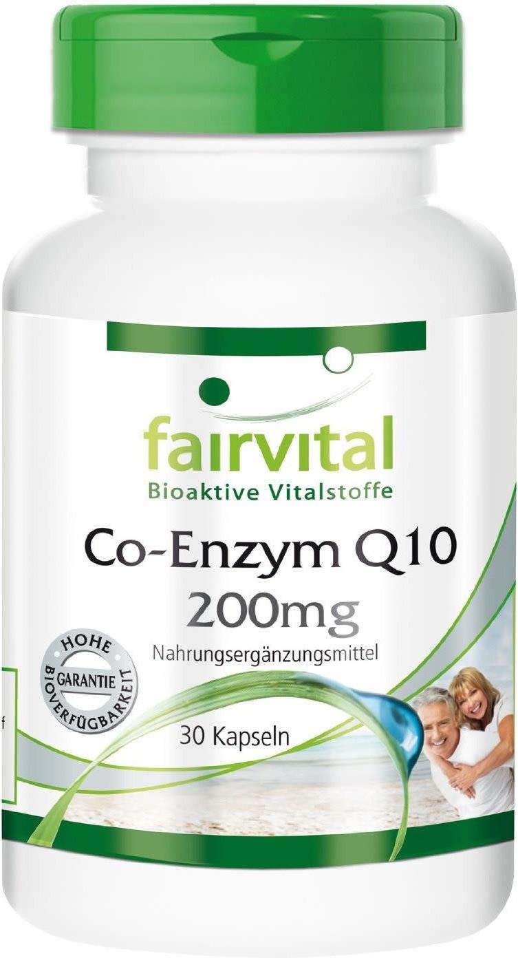 Fairvital Co-Enzym Q10 200 mg Kapseln (30 Stk.)