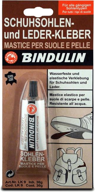 BINDULIN Schuhsohlen und Lederkleber-Kleber 28 g