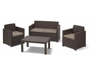 allibert merano lounge set ab 179 00 preisvergleich bei. Black Bedroom Furniture Sets. Home Design Ideas