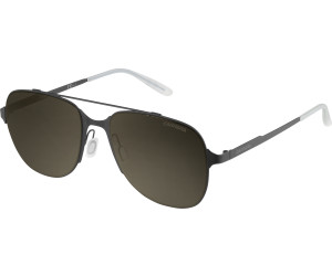 Carrera Herren Sonnenbrille 114/S 70 003, Schwarz (Matt Black/Brown), 55
