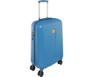 Valise cabine rigide Delsey Helium Air 2 Slim 55 cm Bleu marine Ezr17