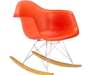 vitra fauteuil bascule eames plastique rar au meilleur prix sur. Black Bedroom Furniture Sets. Home Design Ideas