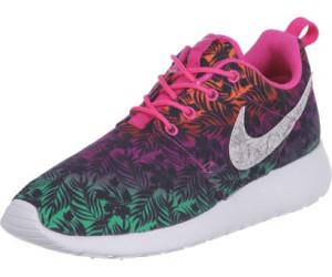 Nike Rosherun Print (GS) Laufschuhe hot pink-white-menta-total orange - 37,5