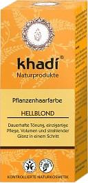 Khadi Pflanzenhaarfarbe hellbond (100g)