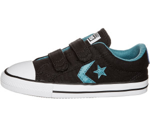 Schwarze Converse Sneaker Star Player Ev 2v Ox Kids MnAhg