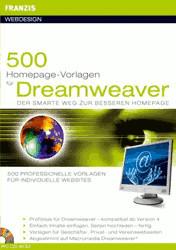 Franzis 500 Homepage-Vorlagen für Dreamweaver (DE)