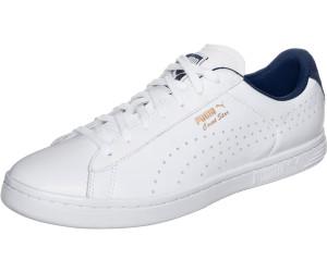 puma court star crafted herren sneaker schwarz