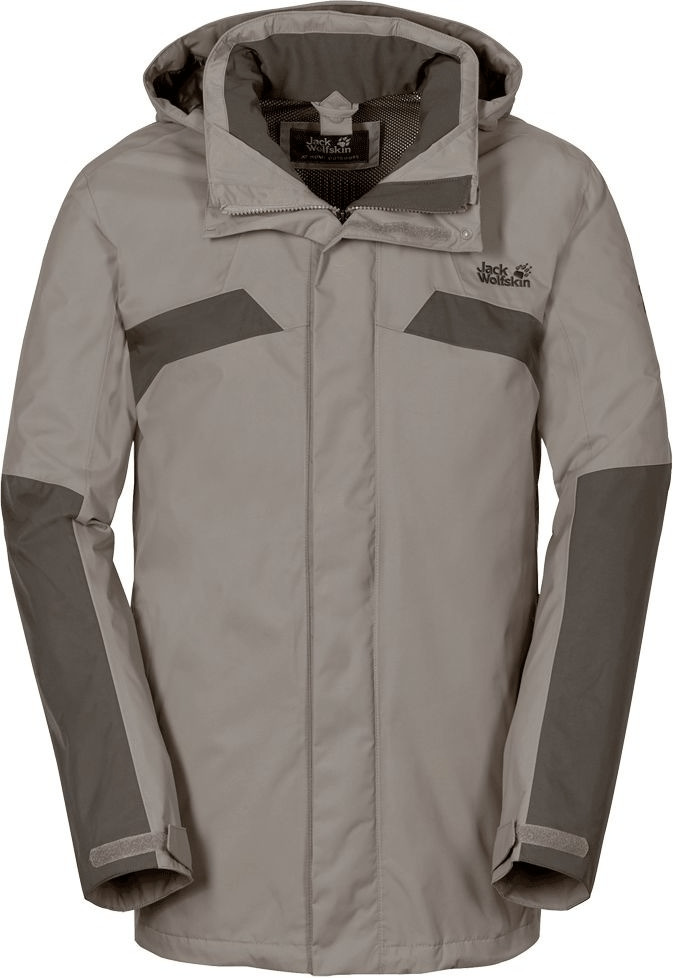 Jack Wolfskin Topaz Jacket Men Moon Rock