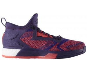new concept b336d c6c35 Adidas D Lillard 2.0 Boost Primeknit Men dark purpleblast purpleshock red
