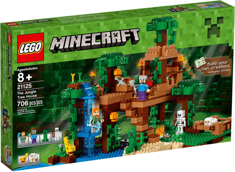 LEGO Minecraft - Das Dschungel-Baumhaus (21125)