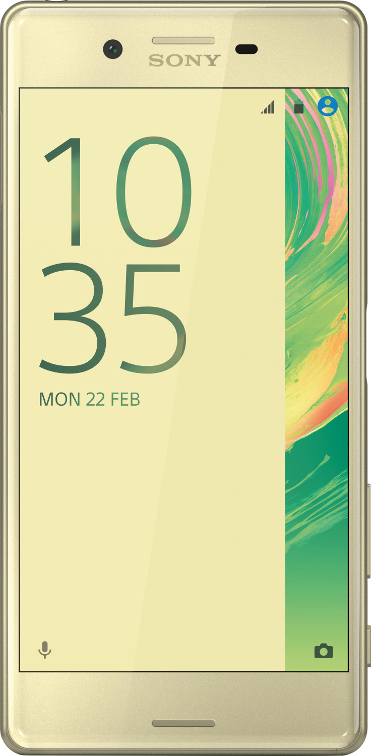 Image of Sony Xperia X 32GB Lime Gold