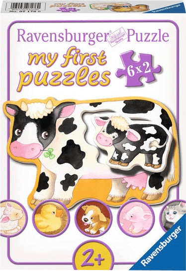 Ravensburger my first Puzzles - Tiere und ihre Kinder