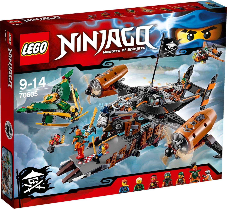 LEGO Ninjago - Luftschiff des Unglücks (70605)