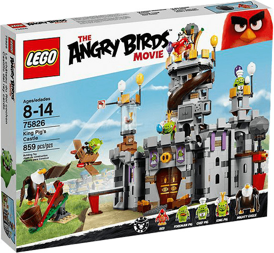 LEGO Angry Birds - King Pig´s Castle (75826)