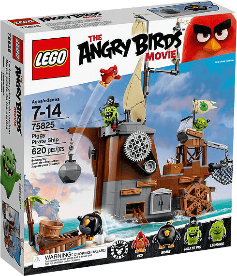 LEGO Angry Birds - Piggy Pirate Ship (75825)
