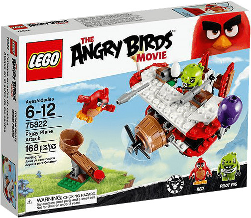 LEGO Angry Birds - Piggy Plane Attack (75822)