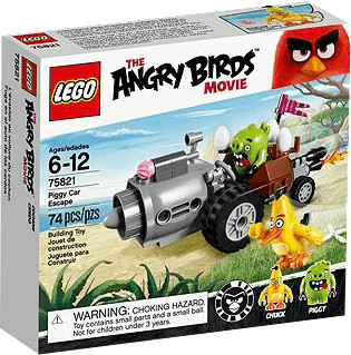 LEGO Angry Birds - Piggy Car Escape (75821)