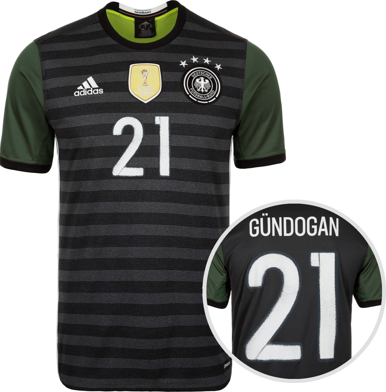 Adidas Deutschland Away Trikot 2015/2016 + Günd...