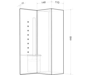 wagner ewar b rstengarnitur unterputz wp 161 ab 280 27. Black Bedroom Furniture Sets. Home Design Ideas