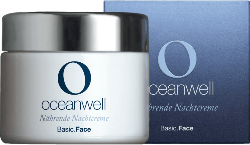 Oceanwell Basic Line Nährende Nachtcreme (50ml)