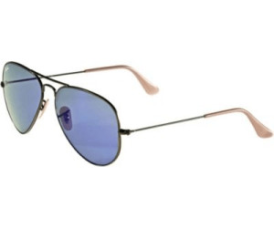 Ray Ban Aviator Flash Lentilles BleuViolet Miroir 58 mm