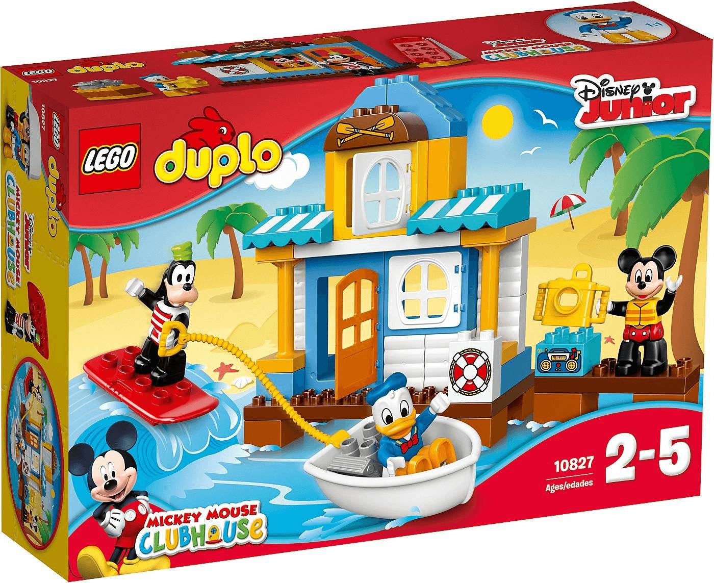 LEGO Duplo - La maison à la plage de Mickey et ses amis (10827)