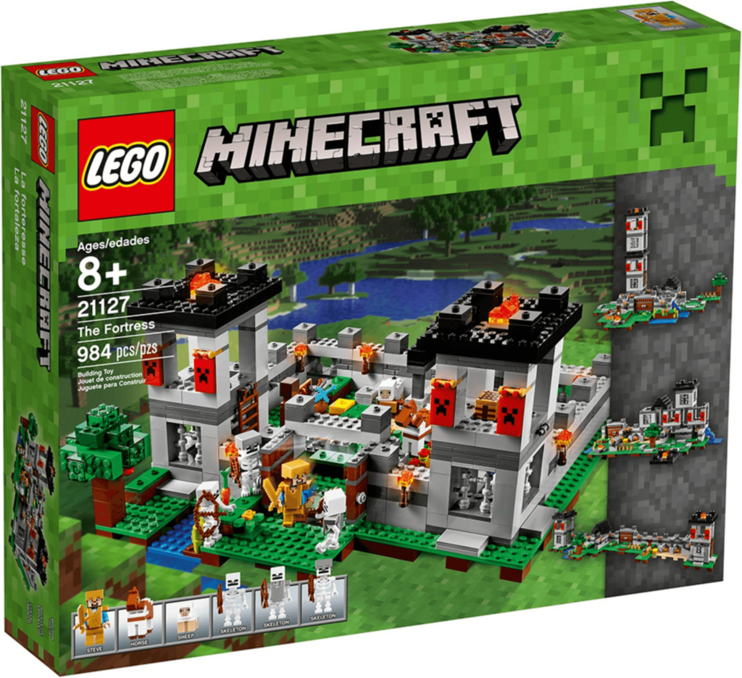 LEGO Minecraft - The Fortress (21127)