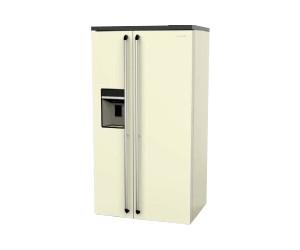 Smeg Kühlschrank Doppeltür : Smeg sbs ab u ac preisvergleich bei idealo