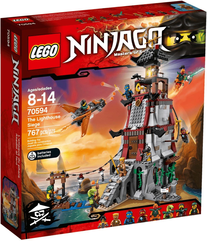 LEGO Ninjago - Die Leuchtturmbelagerung (70594)