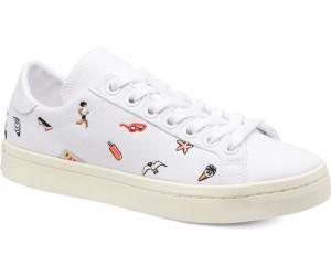 Frauen Adidas Court Vantage Schuh Originals weiß