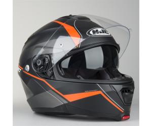 Schwarz Matt//Orange HJC IS-MAX II Mine Klapphelm XXL 63//64