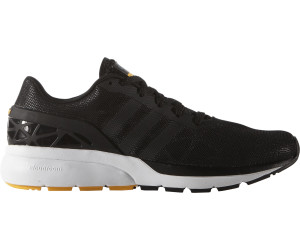 Adidas Herren Neo Cloudfoam Flow Sneaker Schwarz Weiß