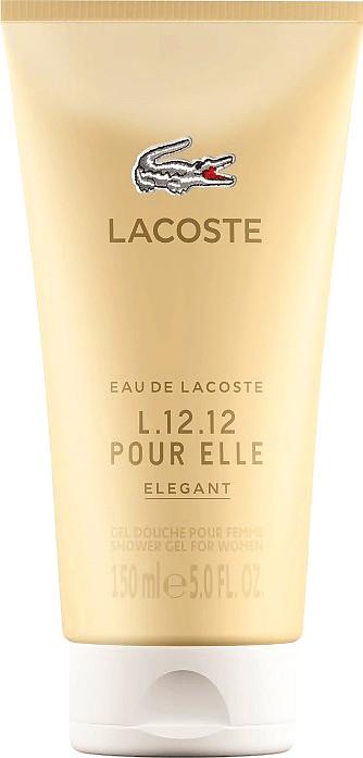 Image of Lacoste Eau de Lacoste L.12.12 Pour Elle Elegant Shower Gel (150ml)