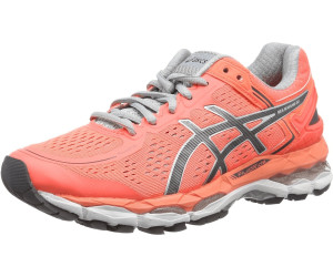 Asics Gel Kayano 22 Women flash coralcarbonsilver Grey ab