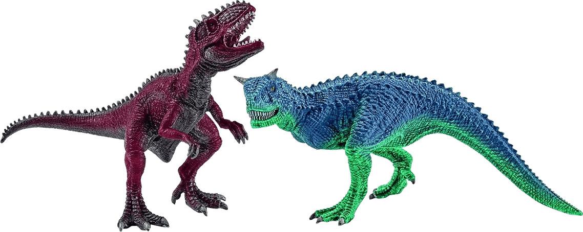 Schleich Carnotaurus und Giganotosaurus klein (42215)