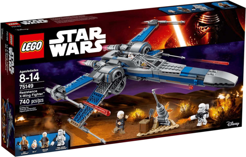 LEGO Star Wars - X-Wing Fighter de la Résistance (75149)