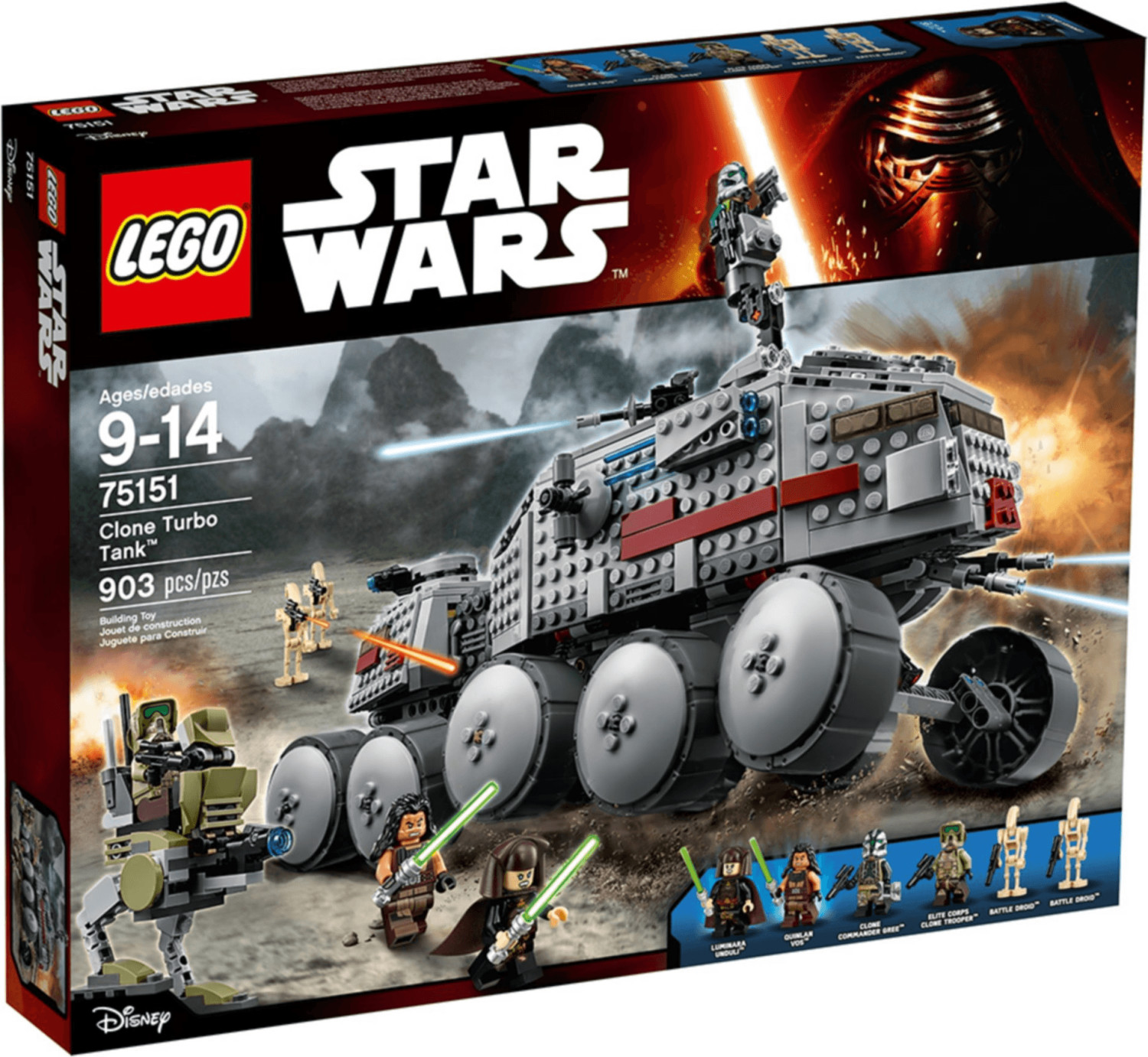 LEGO Star Wars - Clone Turbo Tank (75151)