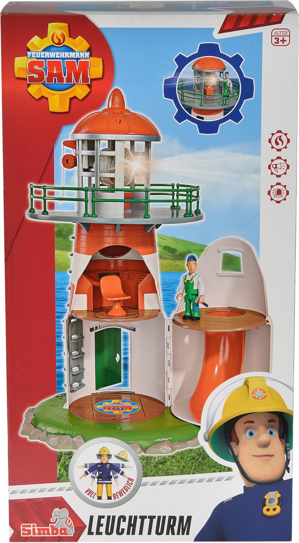 Simba Sam Feuerwehr Leuchtturm
