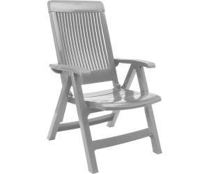 grosfillex fauteuil de jardin fidji avec dossier r glable au meilleur prix sur. Black Bedroom Furniture Sets. Home Design Ideas
