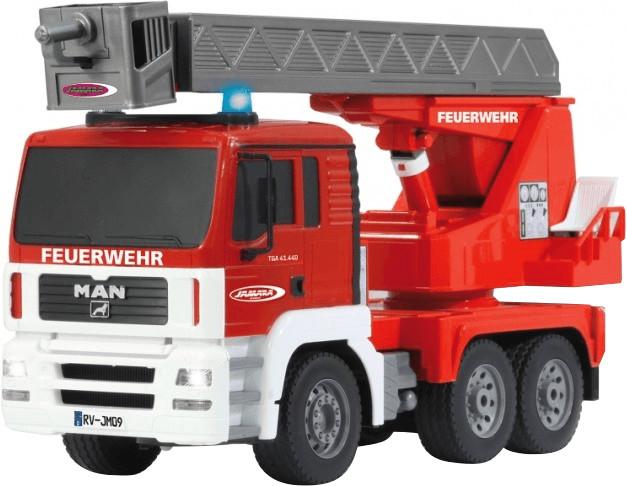 Jamara Feuerwehr Drehleiter MAN 1:20 2,4GHz