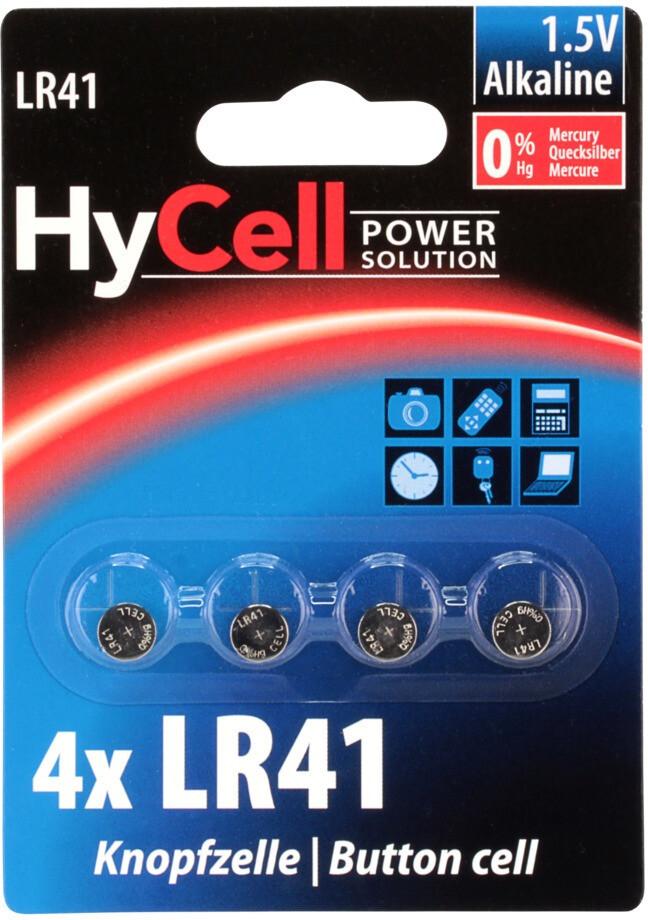 HyCell LR41 Batterien (4 St.)