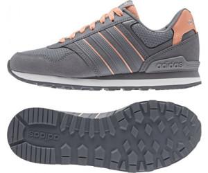 adidas neo 10k damen sneakers low grau