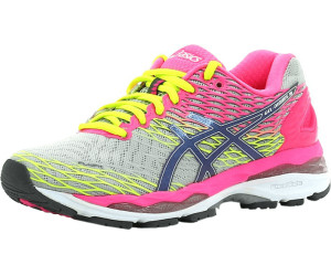 33781dfcf5be Buy Asics Gel-Nimbus 18 Women silver titanium hot pink from £101.62 ...