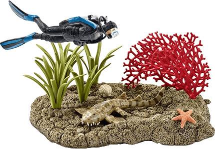 Schleich Taucher im Korallenriff (42328)