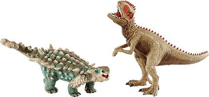 Schleich Saichania und Giganotosaurus (41426)