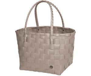 Handed By Einkaufs oder Strandtasche Shopper Paris S beige mix
