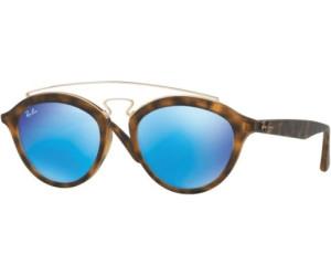 RAY BAN RAY-BAN Damen Sonnenbrille »New Gatsby Ii RB4257«, braun, 60922Y - braun/rosa